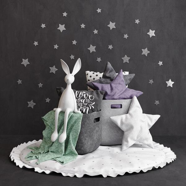 mat bunny 3D model