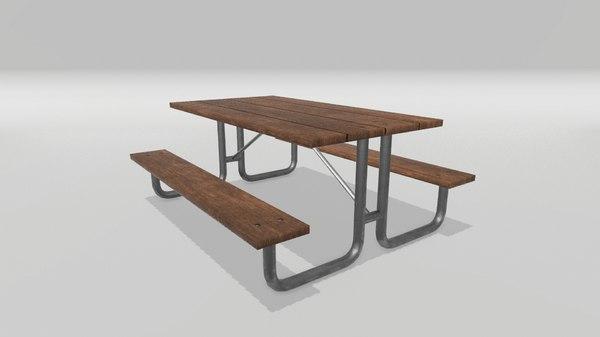 picnic table model