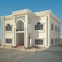 classic villa 3D