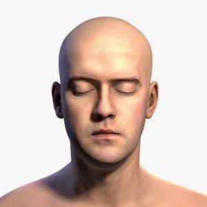 3D realistic head model