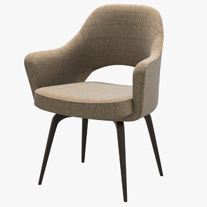 3D knoll saarinen executive armchair