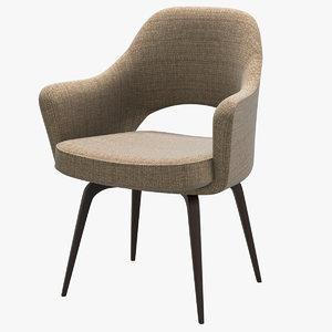 3D knoll saarinen executive armchair