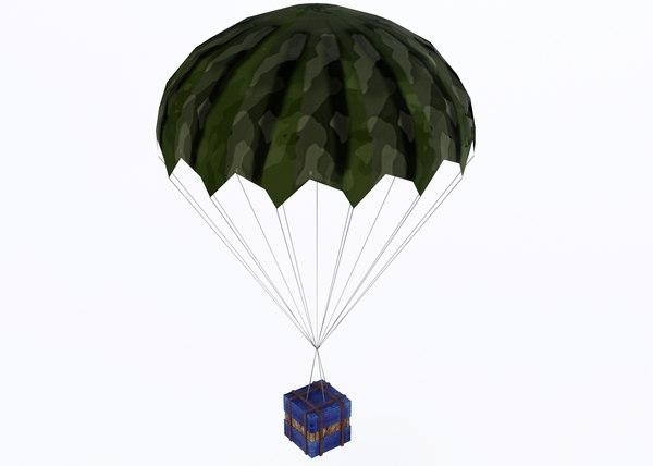airdrop air drop 3D model