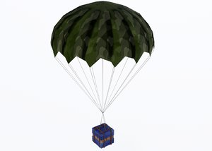 airdrop air drop 3D model