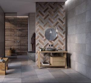 interior bathroom scene flaviker 3D