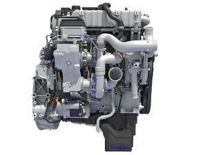 3D engine vehicle model