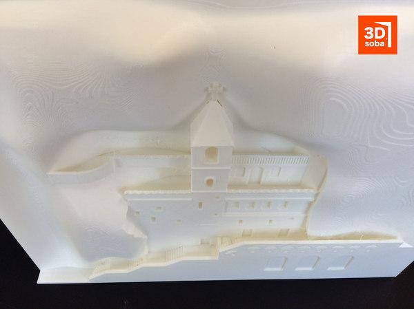 3D monastery ostrog