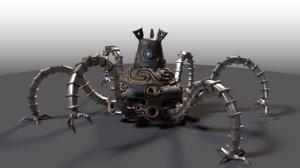 3D guardian zelda breath