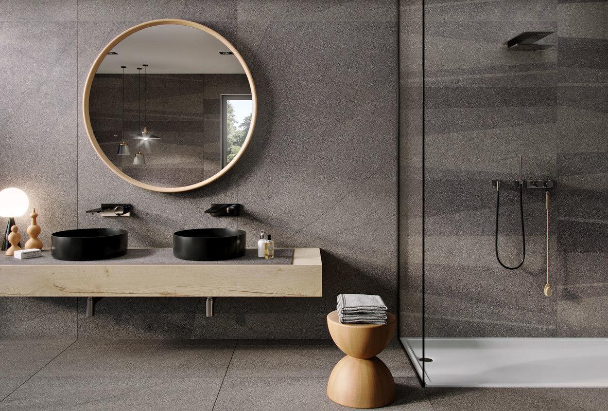 3D model interior bathroom flaviker