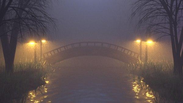 foggy nature model
