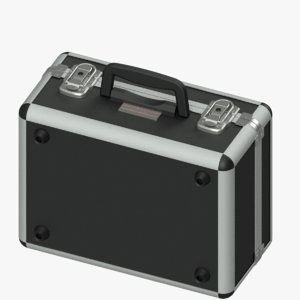 3D small suitcase model