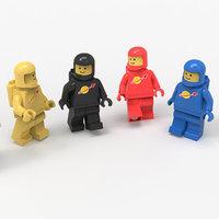 3D lego toys model