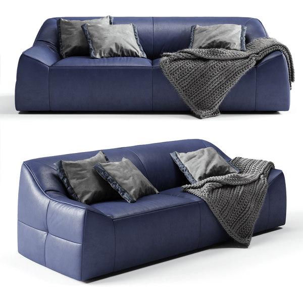 modloft cliff sofa 3D model