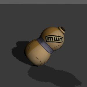 3D gaara naruto model