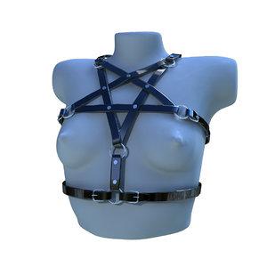 3D harness model