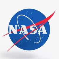 3D model nasa logo