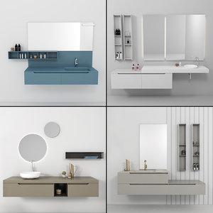 bathroom furniture 9 3D model