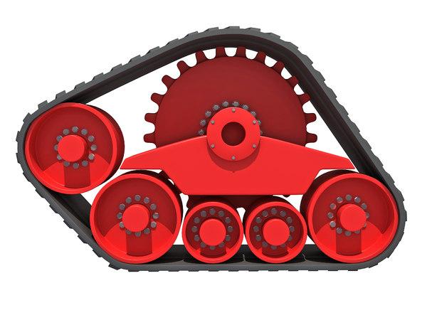 3D model track kit