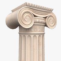 3D column crude model
