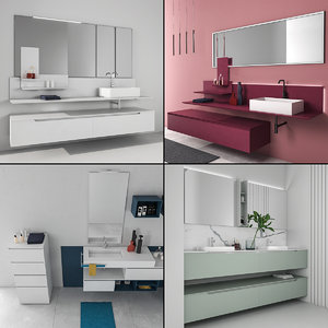3D bathroom furniture 8 model