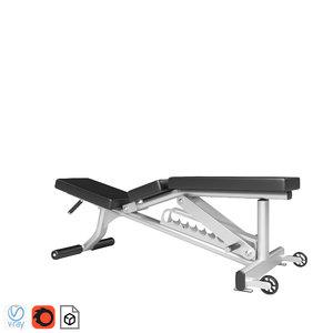 fitness 3D model