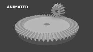 bevel gear 3D