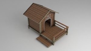 3D doghouse shelter