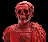 caesar skull 3D model