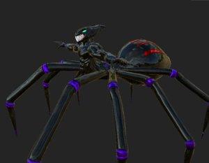 parasite spiders 3D model
