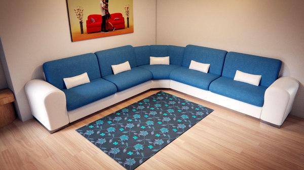 corner couch model