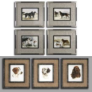pictures set 21 framed 3D