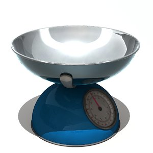 weight scale 3D