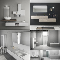 3D model bathroom furniture 3 e