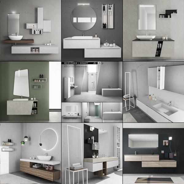 3D bathroom furniture 3 9