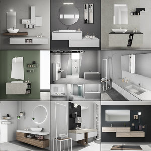 3D bathroom furniture 3 9