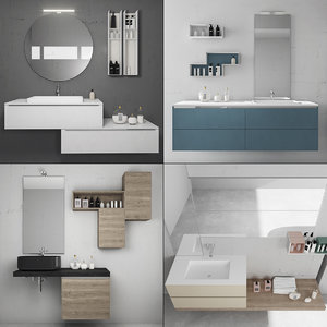 3D bathroom furniture 5