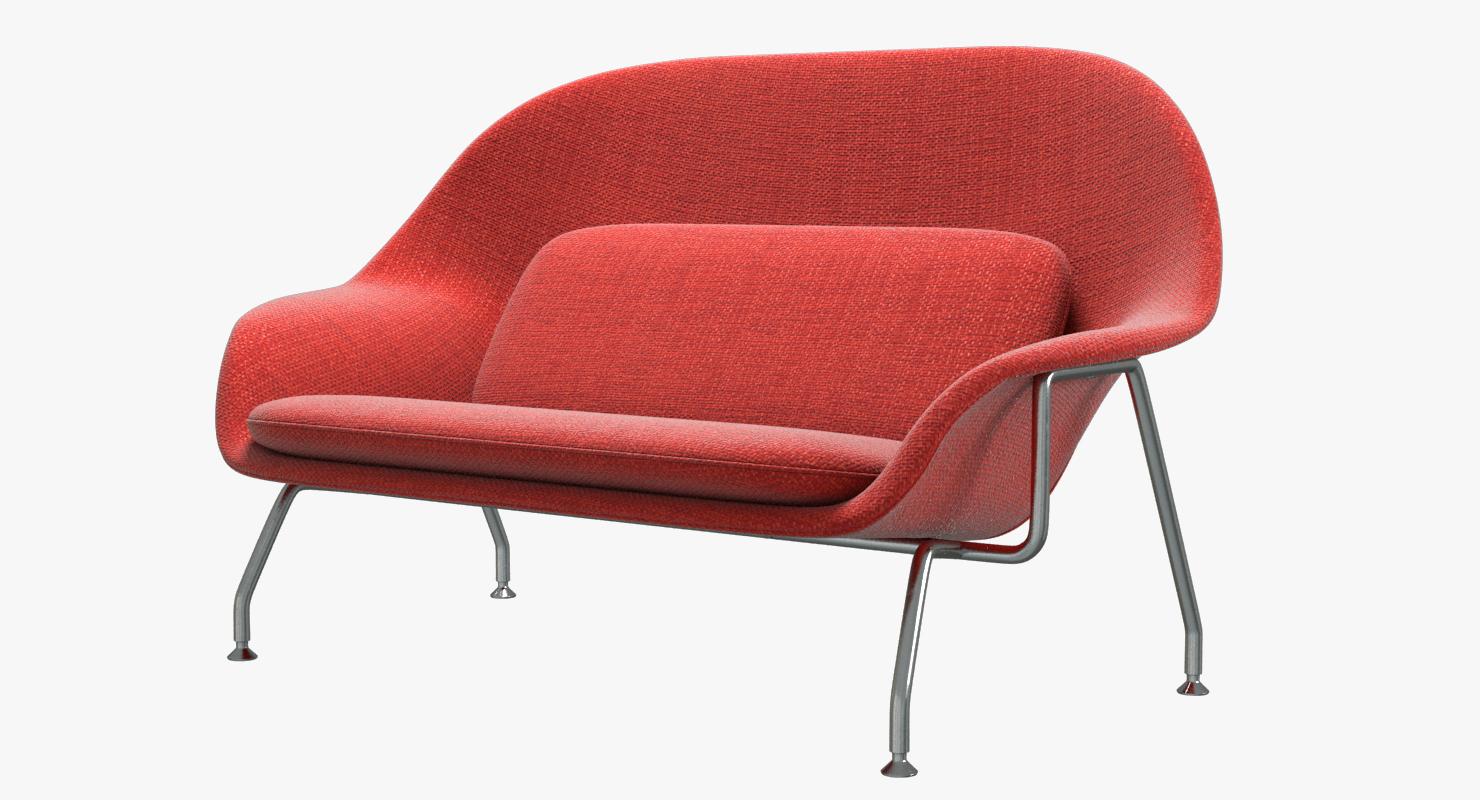 Knoll Saarinen Womb Sofa