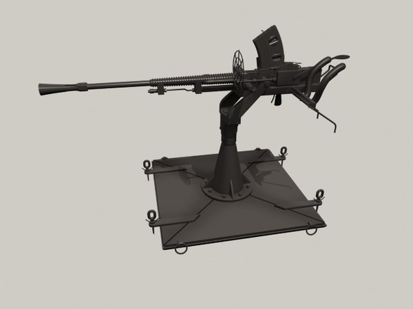 protector m151 m2 browning 3D model