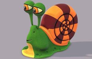 3D snail v01