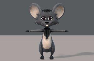 3D model mouse v01