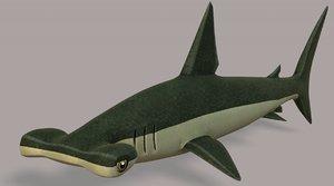 3D shark v02 cartoon animal