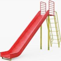 3D ground slide play