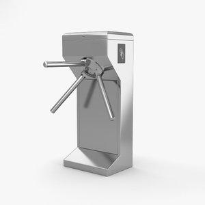 turnstile turn 3D