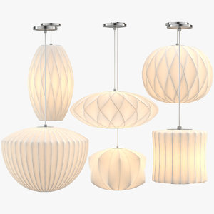 nelson bubble lamps 3D