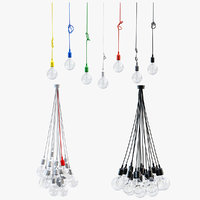 3D model e27 pendant light