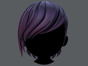 hair style boy v50 model