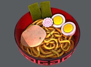 ramen01 food 3D