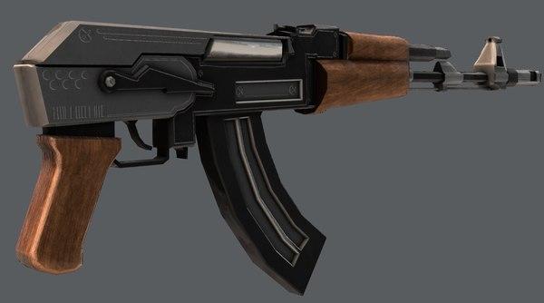 gun 02 3D