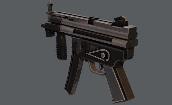 3D model gun 03
