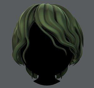 hair style boy v57 3D model